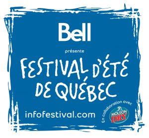 Festival d'été de Québec, une présentation de Molson Dry    Site web : infofestival.com