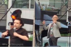 Simon Deslisle, Stéphane Poirier, Mathieu Cyr 3 étoiles du Festival du Grand Rire