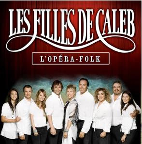 Les Filles de Caleb : 10 comédiens et 5 musiciens sur scène !