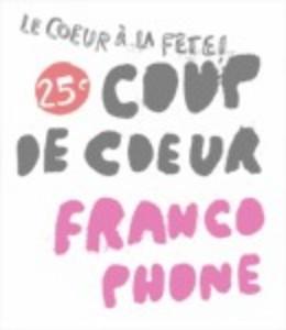 Coup de cœur francophone célébrera son 25e anniversaire à Montréal du 3 au 13 novembre 2011.
