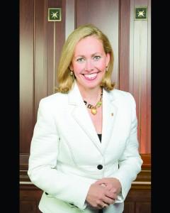 la présidence d'honneur de madame Monique F. Leroux