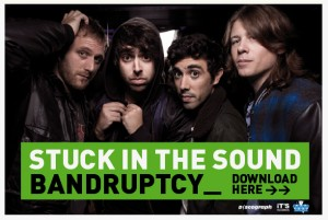 Stuck In The Sound, nouvel single Bandruptcy