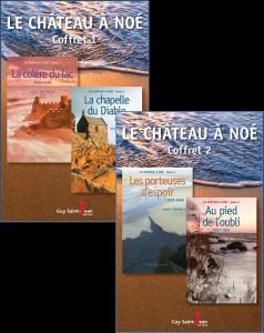 Le château à Noé, coffrets _ Une série d'Anne Tremblay disponible dès le 21 septembre!