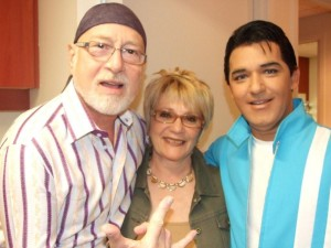 Patrick Norman, Jenny Rock et Carl Brandon (Elvis)