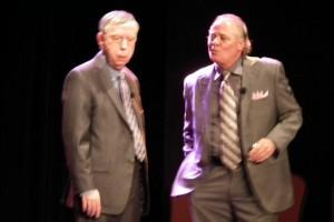 Gilles Latulippe et Jacques Salvail