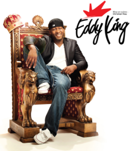 Eddy King, présentera son premier one man show en grande première à la Salle Albert-Rousseau le 25 octobre à 20 h