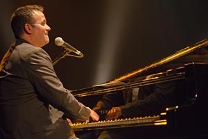 Christian-Marc Gendron au clavier