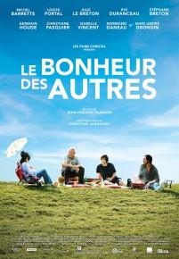 """""""LE BONHEUR DES AUTRES"""" de Jean-Philippe Pearson. A L'AFFICHE DÈS LE 7 OCTOBRE ET EN CLOTURE DU FESTIVAL DE CINEMA"""