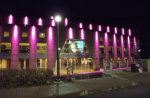 La Salle Albert-Rousseau en rose !