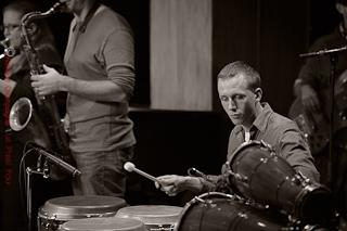 Françis Mercier, percussionniste de haut niveau