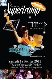 Hommage à Supertramp le 18 février 2012 au Théâtre Capitole