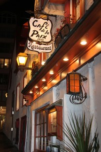Restaurant Le Café de la Paix