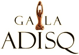 Gala de l'ADISQ sera diffusé à Radio-Canada le 30 octobre prochain, à 19 h 30, en direct du Théâtre St-Denis