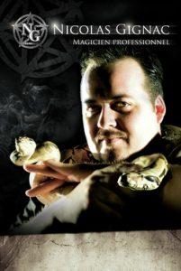 magicien Nicolas Gignac pour trois soirs : jeudi 27, vendredi 28 et samedi 29 octobre.