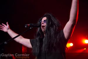 Steeve Diamond incarne Ozzy Osbourne