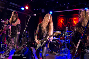 Le groupe Rusted sur scène