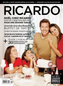 Couverture du magazine spécial Noël Ricardo