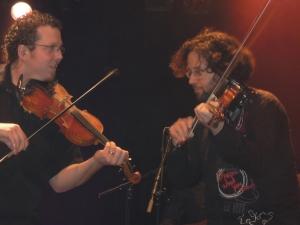 Jean-François et David Boulanger aux violons
