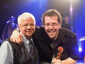 Jean-François Gagnon Branchaud et son père