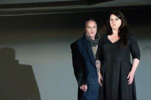 Hugues Frenette (Jason) et Linda Laplante (Médée)