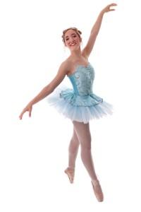 Sarah-Gabrielle Déry-Blanchet, la danseuse qui incarnera la Belle au bois dormant.