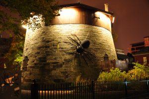 La tour Martello attaquée par une immense araignée!