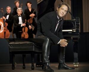 Alain Lefèvre et le Quatuor Alcan