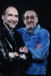 Serge Beaubien et Jacques Thibault