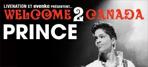 PRINCE  Le vendredi 2 décembre 2011 à 20h / Centre Bell