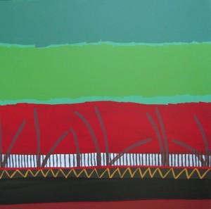 Dernière expo de 2011, les artistes permanents