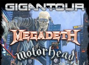 GIGANTOUR avec Megadeth / 3 fév. 2012 - Centre Bell