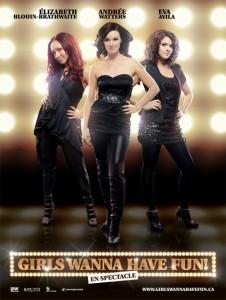 EVA AVILA avec GIRLS WANNA HAVE FUN EN 2012
