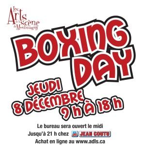 Le retour du Boxing Day des Arts de la scène de Montmagny