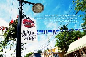 Le festival J'aime Sainte-Adèle présenté les 10, 11 et 12 février 2012