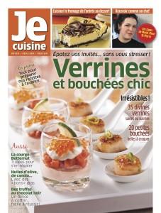 Je cuisine : Verrine et bouchées chic
