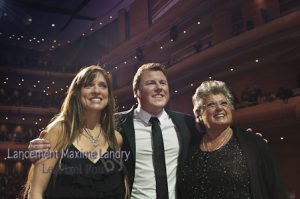 Maxime, Linda Lemay et Ginette Reno