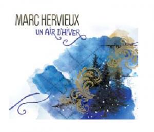 Pochette d'album musical un air d'hiver de Marc Hervieux