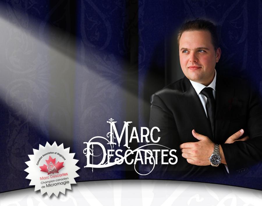Marc Descartesamène sa magie à Montréal