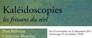 Exposition des artistes Paul Béliveau et Catherine Blanchet- 25 novembre au 23 décembre 2011