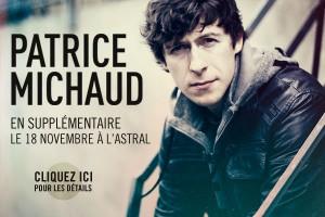 Patrice Michaud en supplémentaire !