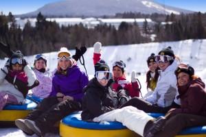 Avalanche au Vilage Vacances Valcartier