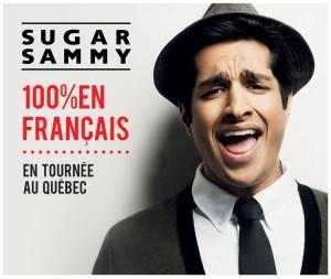 Sugar Sammy - Spectacle francophone à travers le Québec