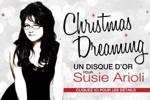Un disque d'or pour Susie Arioli !