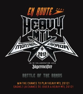En route vers HEAVY MTL 2012
