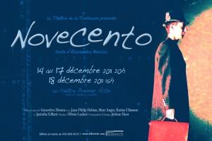 présenté du 14 au 17 décembre 2011, à 20h,  ainsi que le 18 décembre, à 15h au Théâtre Premier Acte de Québec.