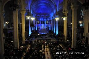 """Une église remplie pour """"Les Stars chantent Noël"""""""