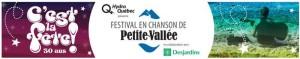 Michel Fugain et Catherine Major, porte-parole pour le 30e anniversaire du Festival en chanson de Petite-Vallée