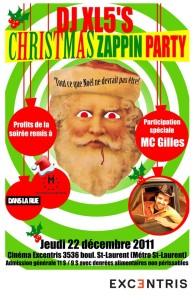 Jeudi 22 décembre 2011 à 21 h. au cinéma Excentris (3536, St-Laurent, Montréal)