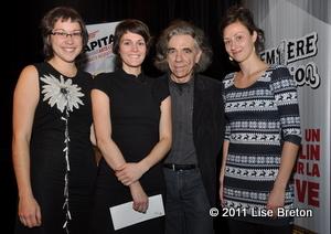 Laurence P. Lafaille, Audrey Marchand, Marc Gourdeau, Josiane Bernier