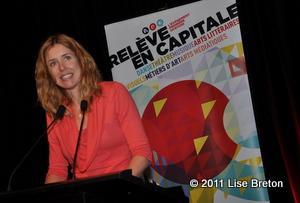Julie Lemieux de la Ville de Québec